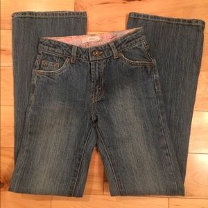 Levi's stretch flare 517 jeans size 12 slim